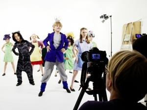 Hamburg Musical Company  Video-Dreh zu Alice im Wunderland 01  Backstage - Blick hinter die Kulissen