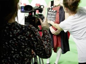 Hamburg Musical Company Video-Dreh zu Alice im Wunderland 04 Backstage - Blick hinter die Kulissen