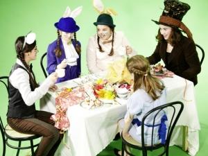 Hamburg Musical Company Video-Dreh zu Alice im Wunderland 08 Backstage - Blick hinter die Kulissen