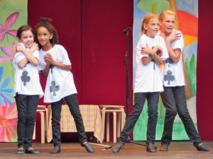 Hamburg Musical Company Auftritt auf der igs