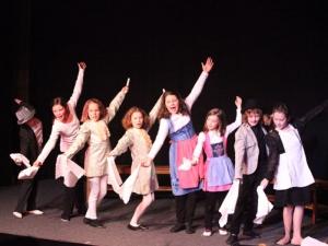 Hamburg Musical Company show 2009-9 Finale aus Schöne und das Biest