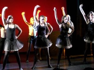 Hamburg Musical Company show 2012-3 Tanz zum Film Burlesque