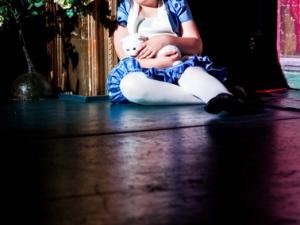 Hamburg Musical Company show 2013-06 Kind spielt Alice im Wunderland