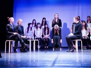 Hamburg Musical Company show2013-15 Schauspielszene zum Film Chicago