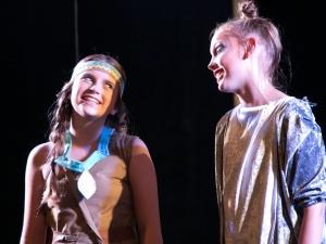 Hamburg Musical Company Sommershow 2016 Schauspielszene aus Pocahontas
