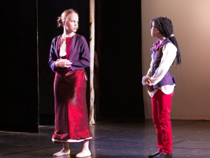 Hamburg Musical Company Sommershow 2016 Schauspielzene aus Musical Pocahontas