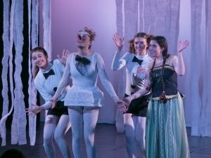 Hamburg Musical Company Sommershow 2016 Schneemann Tanz