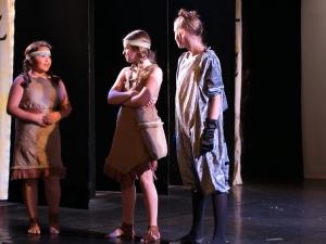 Hamburg Musical Company Sommershow 2016 Szene aus Pocahontas