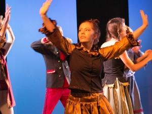 Hamburg Musical Company Sommershow 2016 Tanzszene aus die Eiskönigin