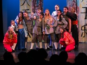 Hamburg Musical Company Theaterschule für Kinder und Jugendliche Finale aus Musicalaufführung