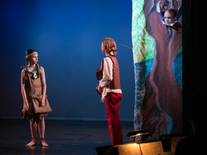 Hamburg Musical Company Theaterschule für Kinder Szene aus Musical Pocahontas