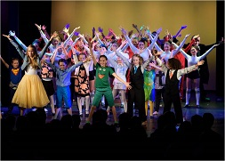Hamburg Musical Company Sommershow 2015 Finale live on stage